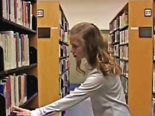 Sexy April Bored From The Library